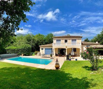 Photo for Villa with private pool and garden / Cote d'Azur
