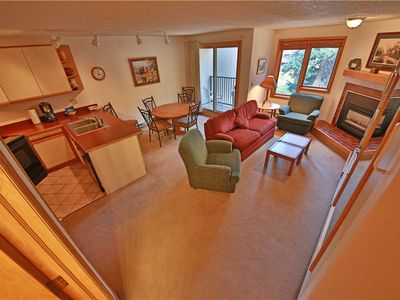 Photo for Awesome ski-in/ski-out condo with room for the whole family and indoor parking