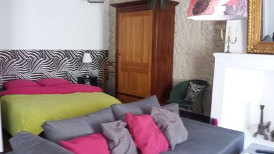 Photo for ATYPICAL APARTMENT IN THE HEART OF THE MEDIEVAL CITY