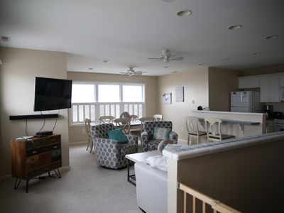 Photo for Breathtaking Beach & Ocean Views from this 3 BR, 2 BA, 2 Story N Wildwood Condo
