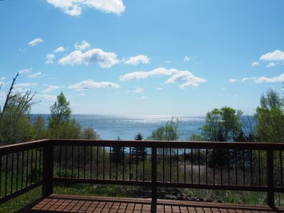 Photo for Lake Superior Home with Awesome Views