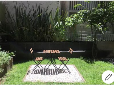 Photo for LOFT WITH A GARDEN!! The best in Colonia Roma, many places to eat around .
