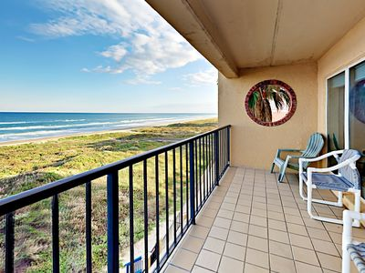 Photo for Oceanfront 2BR Condo w/ Private 4th Floor Balcony, Pool & Hot Tub Suntide ii
