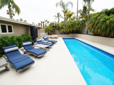 Photo for Hilltop Haven in La Jolla ! Private Pool, Jacuzzi and Views!