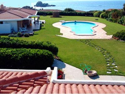 Photo for Exclusive Black Rose Villa with private pool, sea view, 50 m from the beach