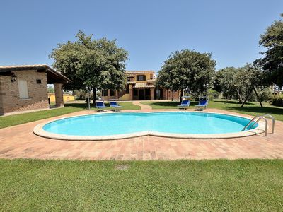 Photo for Beautiful Villa for exclusive use near Rome ID3703