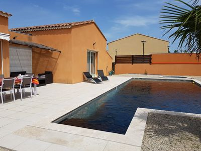 Photo for ARCHITECT VILLA WITH POOL - SPA AND BETWEEN AIX MARSEILLE Arles Avignon