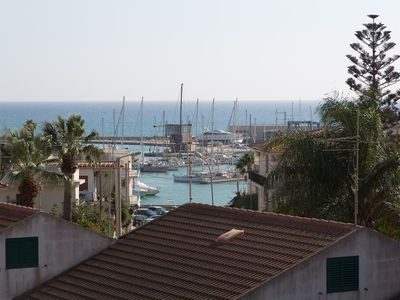 Photo for APARTMENT WITH LARGE TERRACE SEA VIEW AND MARINA