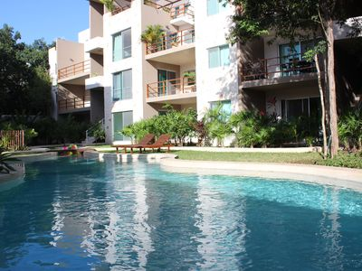 Beautiful apartment for 2 persons, with swimming pool and fully equiped