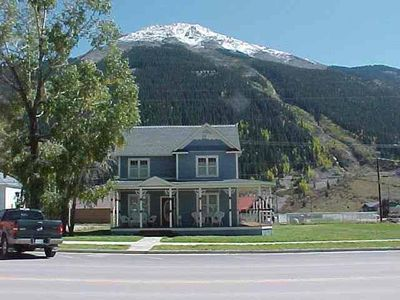 Photo for Beautifully restored Victorian Mountain home furnished with authentic antiques!