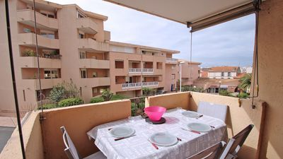 Photo for Apartment T3 - 4/6 people - Air conditioning - Wifi - Town center and beach on foot - Sainte Maxime