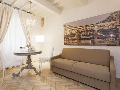 Photo for Adenia Studio apartment in Santa Maria Novella with WiFi & integrated air conditioning.
