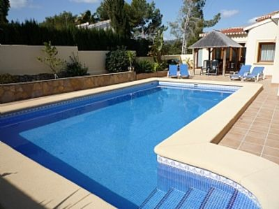 Photo for Premium Quality Villa, Private Sun Terrace, Pool, WiFi, Air Con, Quiet Location