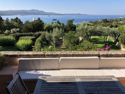 Photo for Apartment with sea view in Costa Smeralda