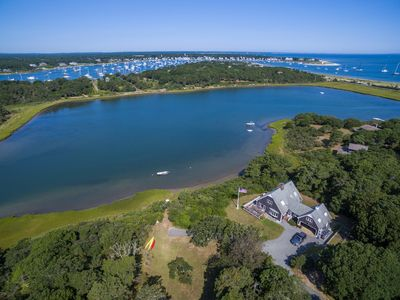 Photo for Secluded, Waterfront, Beautiful Sunsets, Within 1 Mile of Edgartown