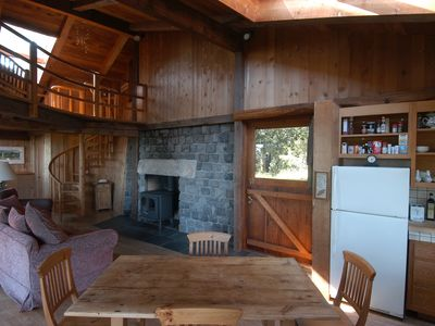 Photo for Beautiful End of the Road Cabin on Top of Ridge - Pet Friendly