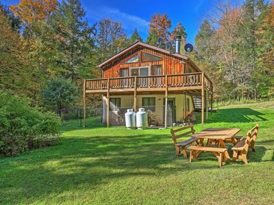 Photo for Jewett Cabin w/Viewing Deck - 10 Mins to Skiing!