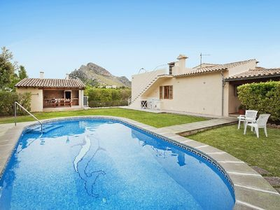 Photo for Villa Can Lluc, Villa of maximum tranquility a kilometer from the beach, wifi.