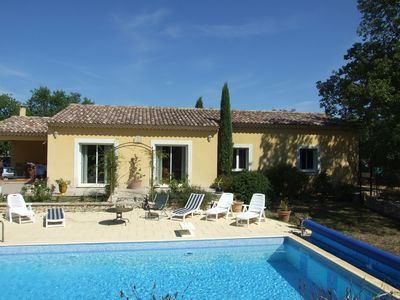 """Photo for VILLA OF VACACANCES IN THE LUBERON """"THE IRIS"""""""