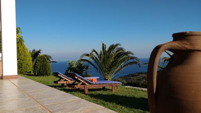 Photo for Aegean Sea Villa Skiathos
