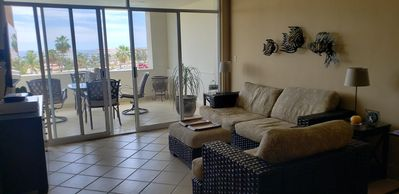 Photo for Ocean View Condo with Roof top terrace, walk to beach