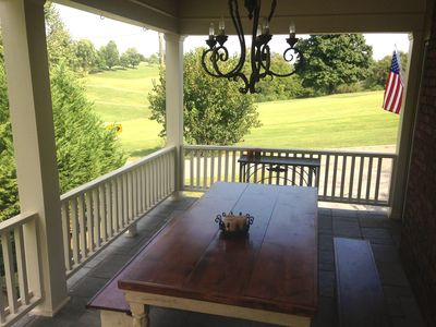 Photo for Fantastic porch, beautiful view, quiet street, 3miles to downtown!