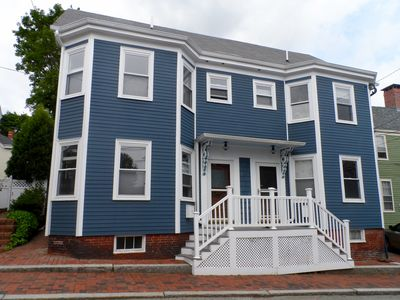 Fully restored historic two-family home. Left side is vacation rental.