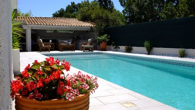 Photo for 180m2 villa with swimming pool - first 15 days of August