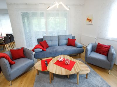 Photo for Spacious apartment in the center of Bad Aussee, directly on the spa park
