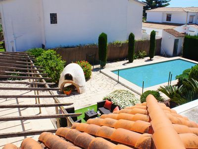 Photo for Exclusive villa with private pool, Wi-Fi and A / C