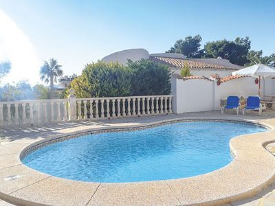 Photo for Villa w/ gated pool, BBQ + sea views, 25 min drive to waterpark and theme parks