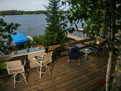 Photo for Private, Year Round, Lakeside Cabin on Vermilion *PET FRIENDLY*