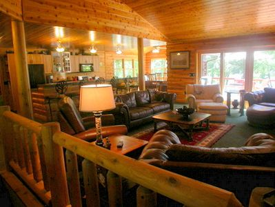 5 Bedroom Log Style Home Custom Built One VRBO