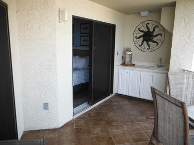 Other view of balcony-Door to master bedroom