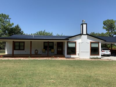 Photo for Cute newly remodeled home with an in ground pool and huge back yard.