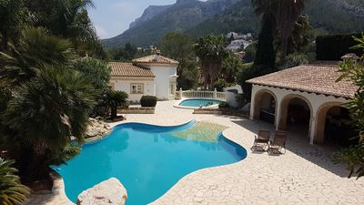 Photo for Large villa with 2 pools & mountain views, 5 bedrooms, 3 baths, lots of space, big Barbacoa