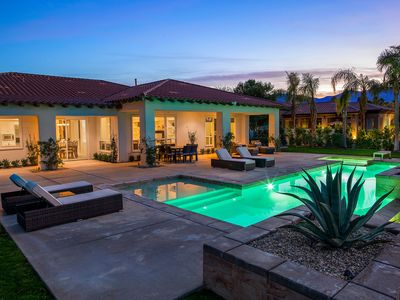 Photo for 'Rancho Retreat' Golf Course Rancho Mirage Estate with Pool and Views