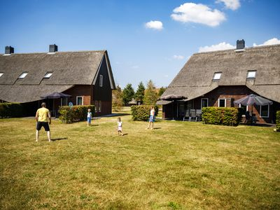 Photo for Luxury 6-person farmhouse in the holiday park Hof van Saksen - on the water/recreation lake