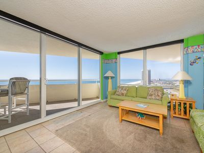 Photo for Charming Gulf-front Perdido Sun Condo,  Indoor and Outdoor Pool