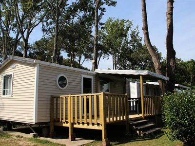 Photo for Camping Domaine de Pont Mahé *** - Mobile Home Comfort Atlantic 3 Rooms 4 Persons