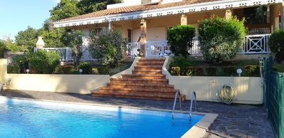 Photo for La Palmeraie, luxury villa with private pool