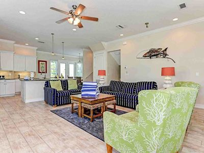 Photo for Dog-friendly house with private pool & hot tub, Gulf views - beach nearby!