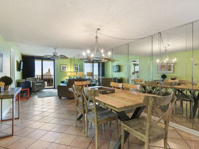 Photo for Phoenix I, Elevated First Floor, direct gulf-front, 2/2, sleeps 6, A+ amenities