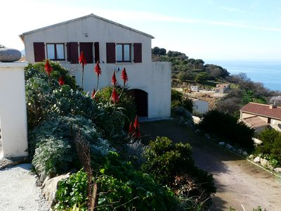Photo for Detached house with 180 degree sea views for 4 people