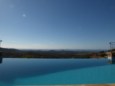 Photo for VILLA FOR 10 PEOPLE WITH SWIMMING POOL AND PANORAMIC SEA VIEW