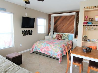 Photo for Bright Sea Rocket Gulf Front Condo w/ Free WiFi & Just Steps from the Beach