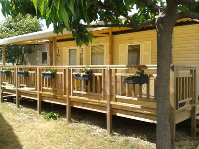 Photo for Mobile home (158) in air-conditioned comfort 4-star campsite