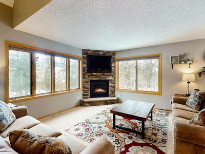 Photo for NEW LISTING! Beautiful & spacious mountain home w/ great views! Bus to slopes!