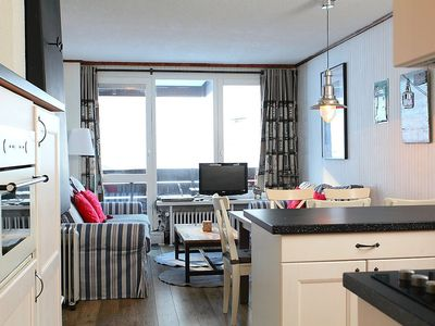 Photo for Apartment 594 m from the center of Tignes with Lift, Internet, Washing machine, Balcony (111545)