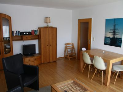 Photo for central, quiet and bright, large sunny balcony, 5 min. to the beach and train station